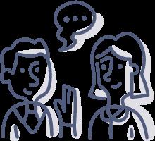 Konzultační činnost - psychologické poradenství, krizová intervence a psychoterapie.